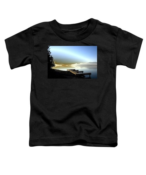 Lake Pend D'oreille Fantasy Toddler T-Shirt