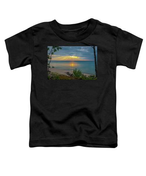 Lake Superior Sunset Toddler T-Shirt