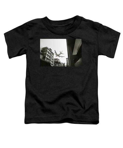 Landing In Hong Kong Toddler T-Shirt