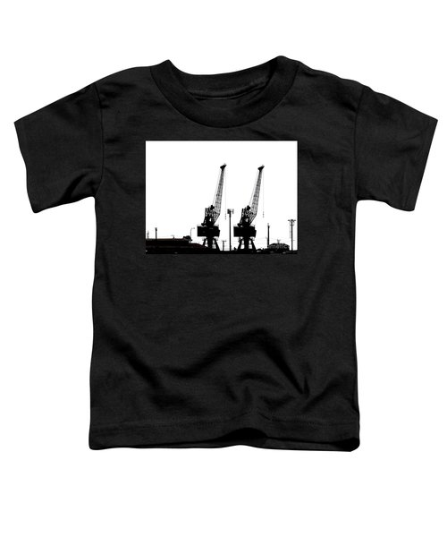 Toddler T-Shirt featuring the photograph Last To The Ark by Stephen Mitchell