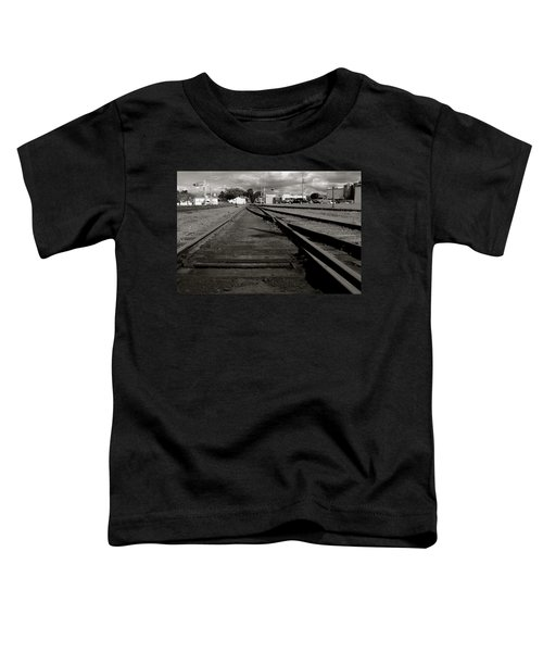 Last Train Track Out Toddler T-Shirt