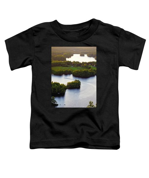 Late Afternoon On Lake Megunticook, Camden, Maine -43988 Toddler T-Shirt