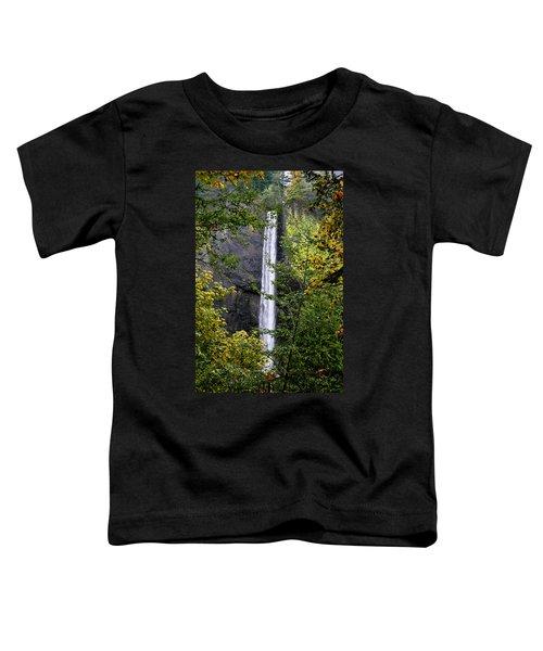 Latourell Falls Toddler T-Shirt