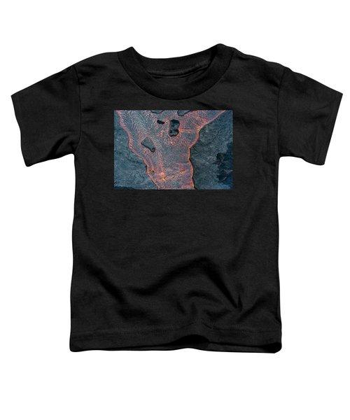 Lava River Texture Toddler T-Shirt