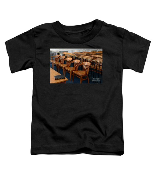 Lawyer - The Courtroom Toddler T-Shirt