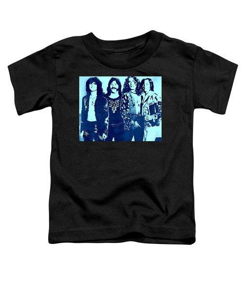 Led Zeppelin Blue  Toddler T-Shirt