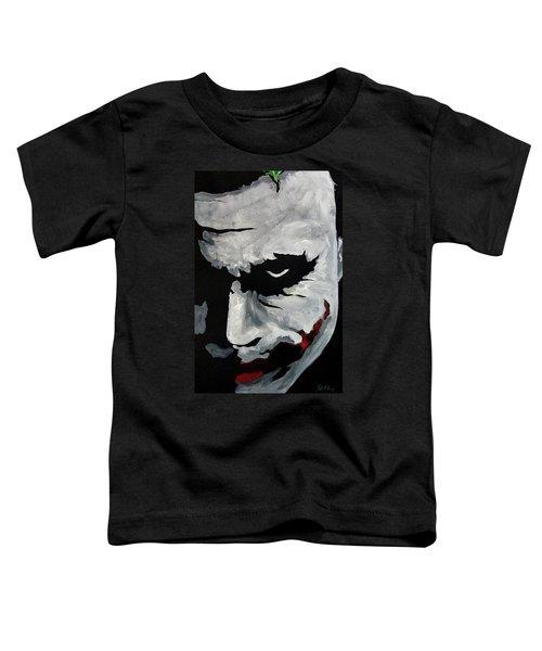 Ledger's Joker Toddler T-Shirt