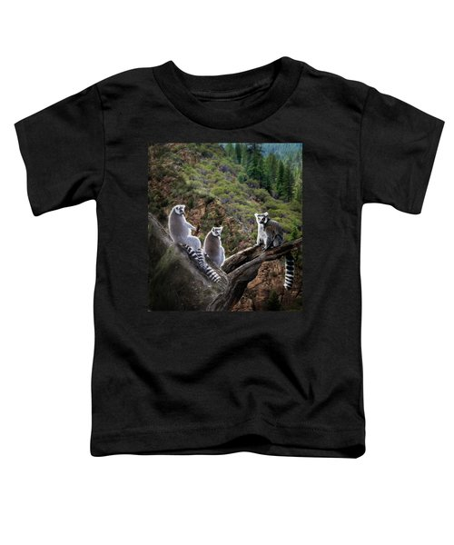 Lemur Family Toddler T-Shirt