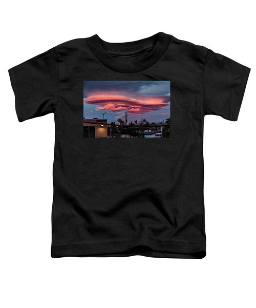 Lenticular Cloud Las Vegas Toddler T-Shirt