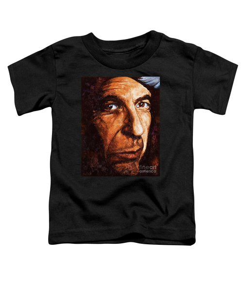 Leonard Cohen Toddler T-Shirt