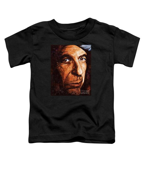 Leonard Cohen Toddler T-Shirt
