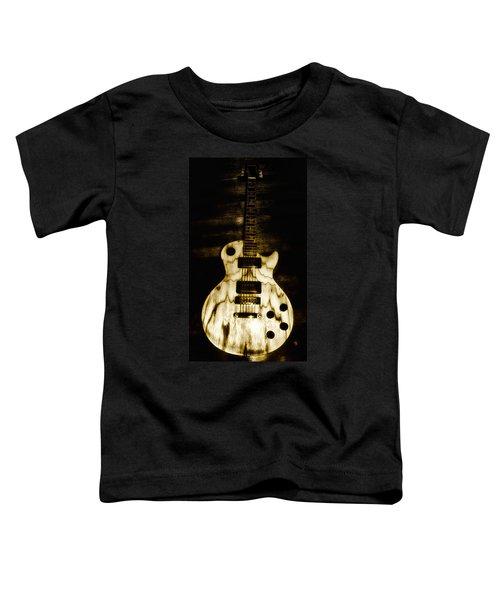 Les Paul Guitar Toddler T-Shirt