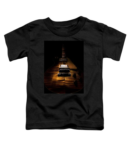 Burst Top Guitar Spotlight Series Toddler T-Shirt