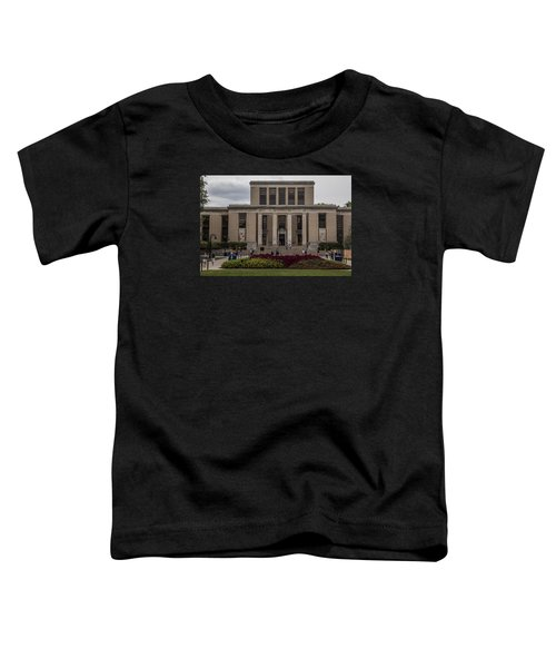 Library At Penn State University  Toddler T-Shirt by John McGraw