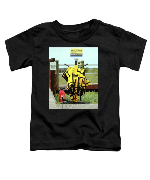 Life Jacket Station Toddler T-Shirt