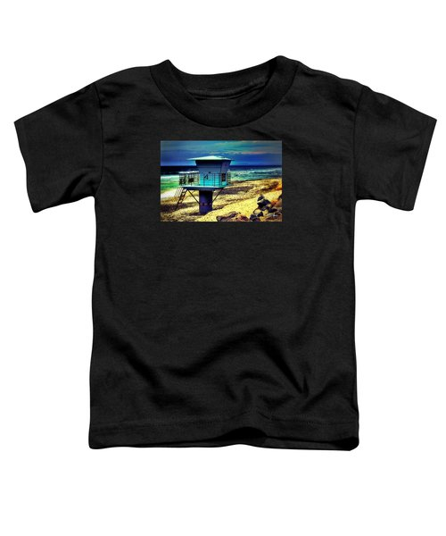 Lifeguard Tower 4 - Del Mar Toddler T-Shirt