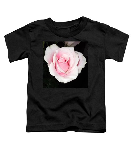 Light Pink Rose Toddler T-Shirt