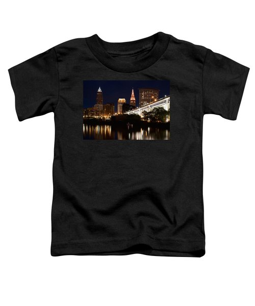 Lights In Cleveland Ohio Toddler T-Shirt