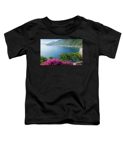 Ligurian Sea, Italy Toddler T-Shirt
