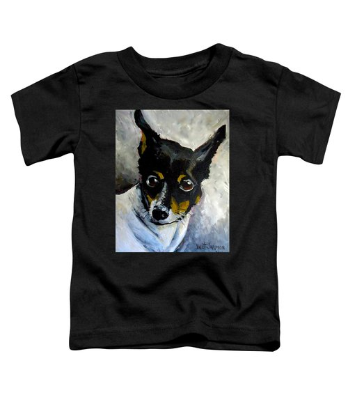 Lil Rat Terrier Toddler T-Shirt