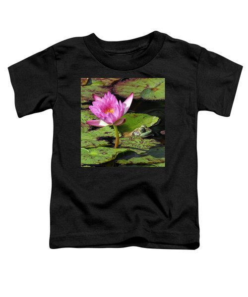Lily And The Bullfrog Toddler T-Shirt