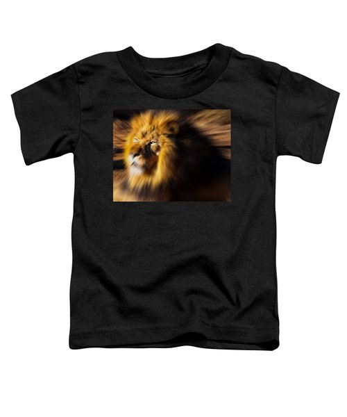Lion The King Is Comming Toddler T-Shirt
