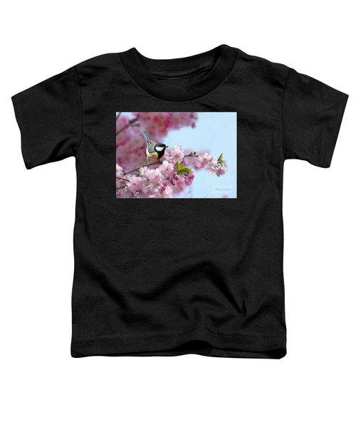 Little Coal Tit Toddler T-Shirt