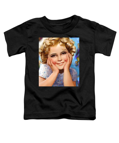 Little Miss Shirley Toddler T-Shirt