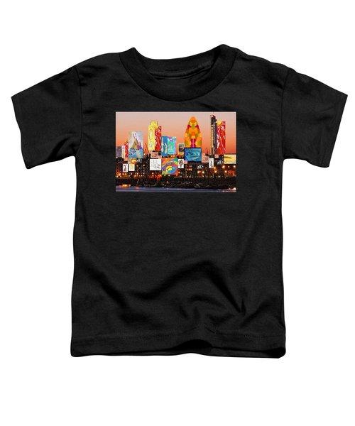 London Skyline Collage 2 Toddler T-Shirt
