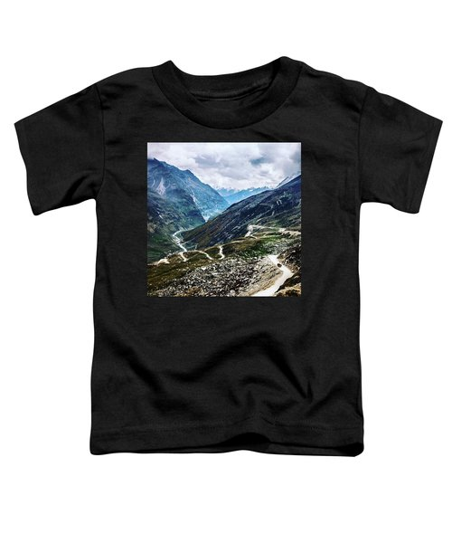 Long And Winding Roads Toddler T-Shirt