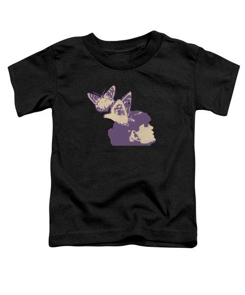 Long Gone Whisper - Amaranth Toddler T-Shirt by Marco Paludet