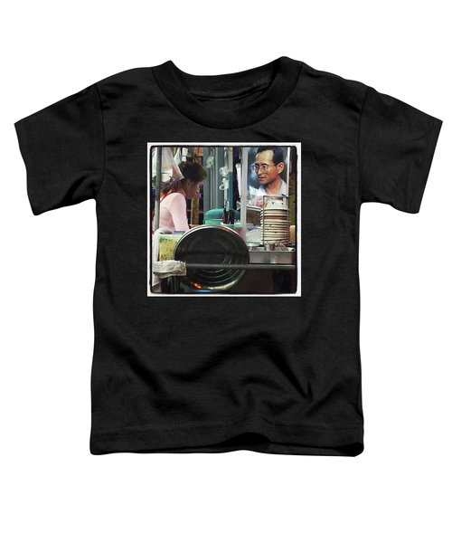 Toddler T-Shirt featuring the photograph Long Live The King. Even After His by Mr Photojimsf