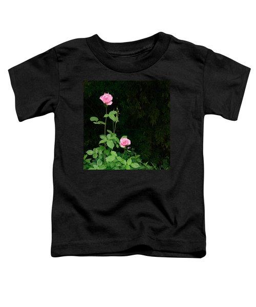 Long Stemmed Rose Toddler T-Shirt