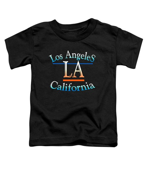 Los Angeles California Design Toddler T-Shirt