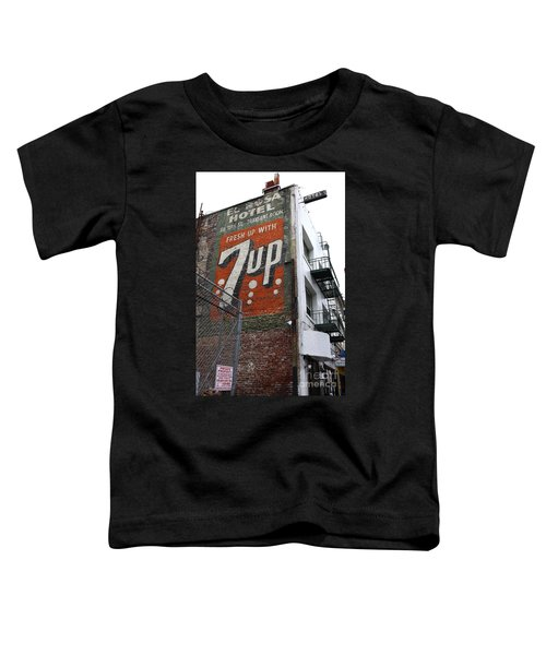 Lost In Urban America - El Rosa Hotel - Tenderloin District - San Francisco California - 5d19351 Toddler T-Shirt