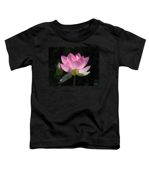 Lotus Bud--snuggle Bud Dl005 Toddler T-Shirt