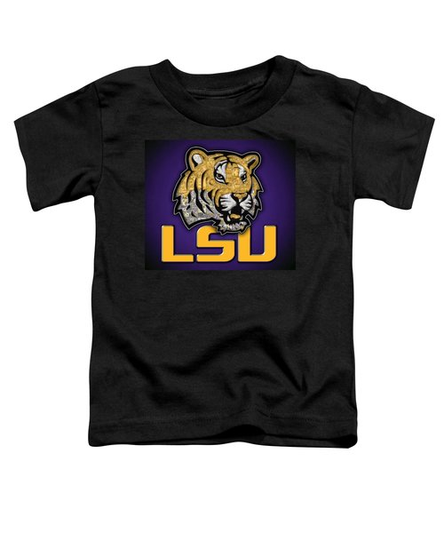 Louisiana State University Tigers Football Toddler T-Shirt