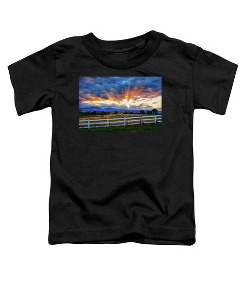 Toddler T-Shirt featuring the photograph Love Is In The Air by James BO Insogna