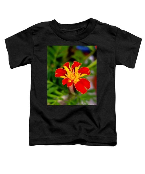 Lovely Little Flower Toddler T-Shirt