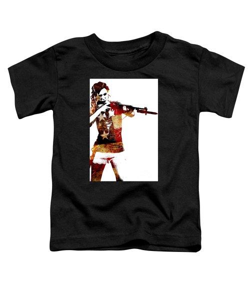 M1 Carbine And Bayonet Toddler T-Shirt