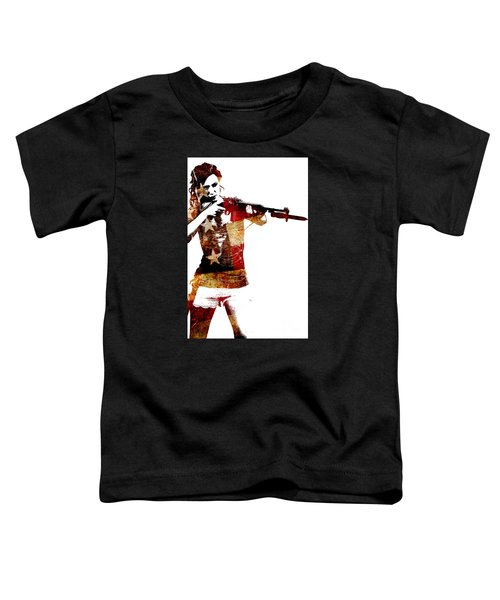 M1 Carbine And Bayonet Toddler T-Shirt