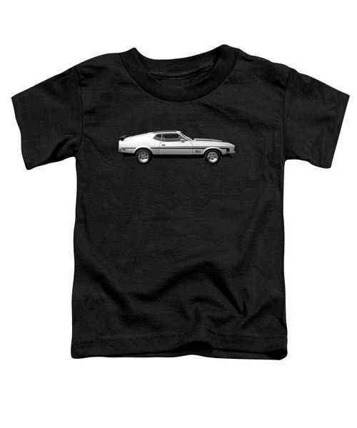 Mach 1 Mustang Reflections Toddler T-Shirt