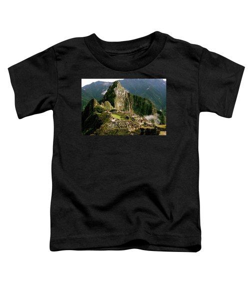 Machu Picchu At Sunrise Toddler T-Shirt