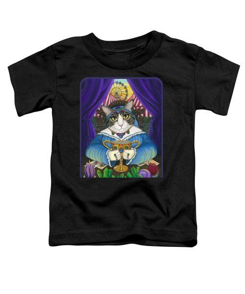 Madame Zoe Teller Of Fortunes - Queen Of Cups Toddler T-Shirt