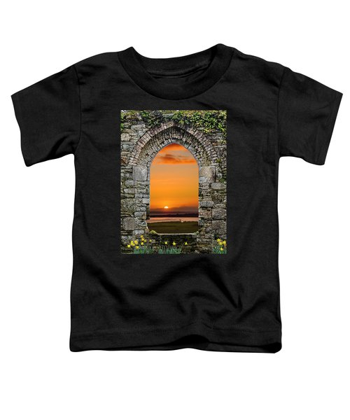 Toddler T-Shirt featuring the photograph Magical Irish Spring Sunrise by James Truett