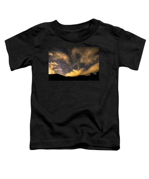 Toddler T-Shirt featuring the photograph Magical Night by James BO Insogna