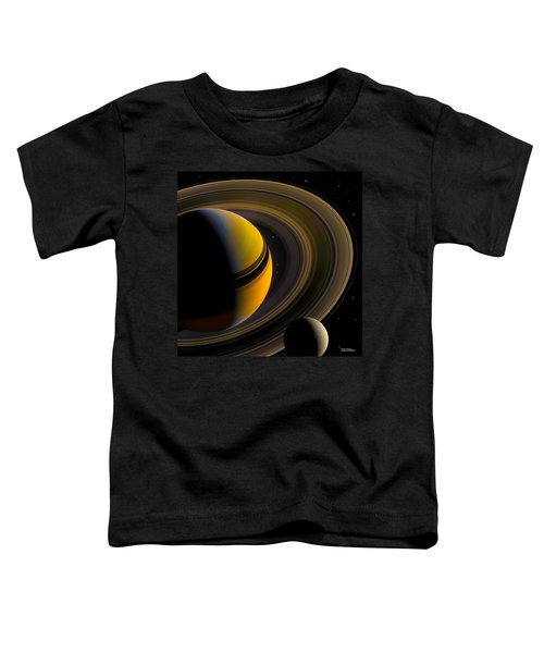 Majestic Saturn Toddler T-Shirt
