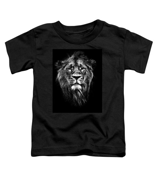 Male Asiatic Lion Toddler T-Shirt