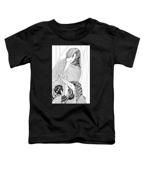 Mama Heron Toddler T-Shirt