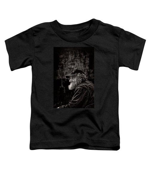 Man With A Beard Toddler T-Shirt